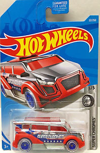 New 2019 Hot Wheels Speedbox Super Chromes 3-5