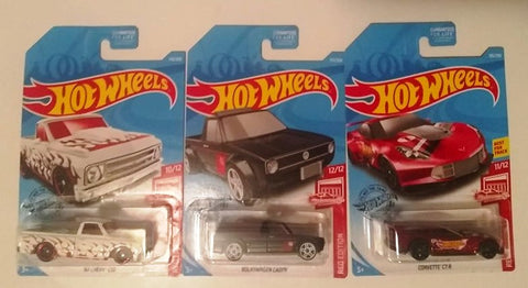 New 2019 Hot Wheels Target Exclusive Red Editions Last Set Of 3 for 2019 10-12 Error