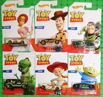 New 2019 Hot Wheels Toy Story Set Of 6 Cars Walmart Exclusive Set Disney Pixar