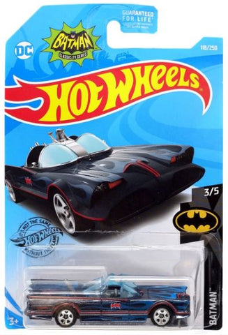 New 2019 Hot Wheels Tv Series Batmobile Batman DC