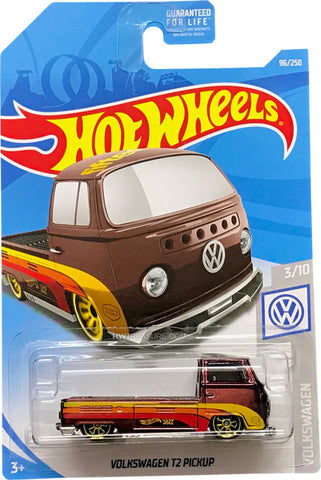 New 2019 Hot Wheels Volkswagen T2 Pickup Super Treasure Hunt