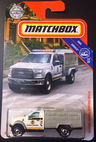 New 2019 Matchbox 10 Ford Animal Control Truck 2010
