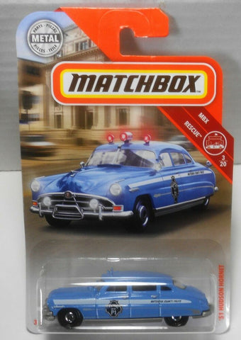 New 2019 Matchbox '51 Hudson Hornet Police Car
