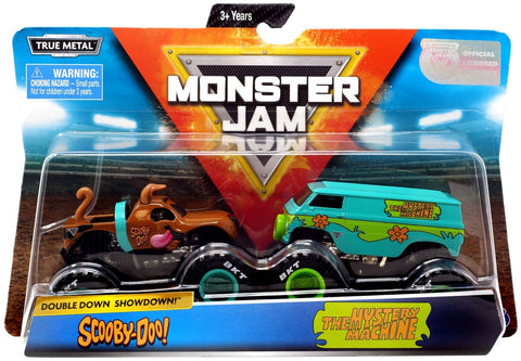 New 2019 Monster Jam Scooby-Doo! Double Down Showdown with The Mystery Machine Condition
