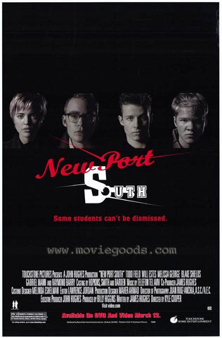 New Port South Movie Poster 27x40 Used
