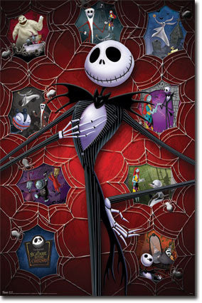 Nightmare Before Christmas – Hot Poster 22x34 RP6203 NBC