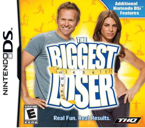Nintendo DS The Biggest Loser Video Game Program Pre-owned UPC886162470727