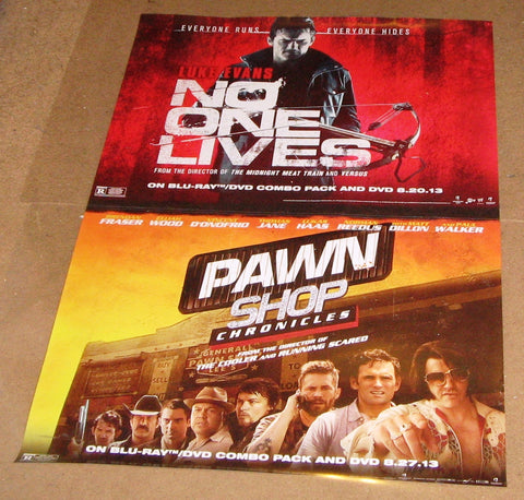 No One Lives & Pawn Shop Movie Poster 27x40 2012