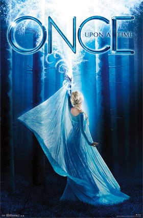 Once Upon A Time - Frozen Movie Poster 22x34 RP13859 UPC882663038596 OUAT Disney