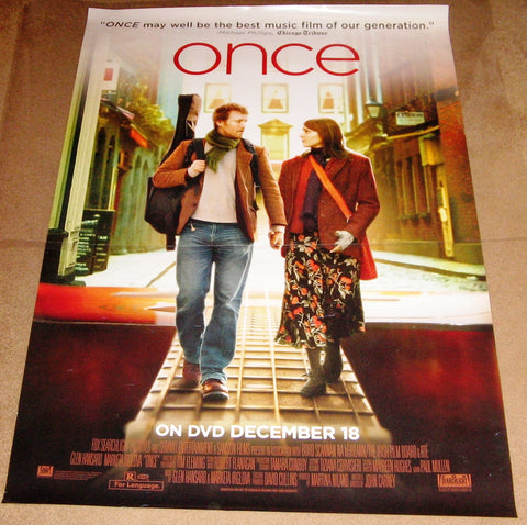 Once Movie Poster 27x40 Used Pat McGrath, Marcella Plunkett, Mal Whyte, Darren Healy