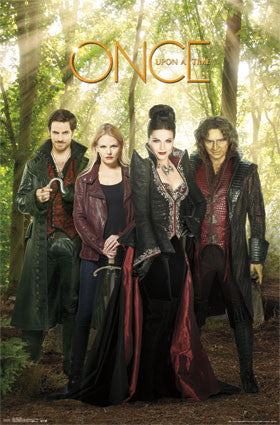 Once Upon A Time - Evil TV Show Poster 22x34 RP14171 UPC882663041718 OUAT