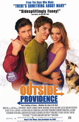 Outside Providence Movie Poster 27x40  Used Eric Brown, Amy Van Nostrand, Amy Smart, George Wendt, Gabriel Mann, Jonathan Brandis, George Martin, Sean Gildea, Alec Baldwin, David Gere, Robert Turano
