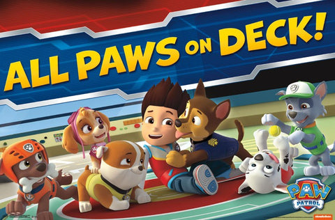 Paw Patrol - On Deck Wall Poster 22x34 RP14438 UPC882663044382