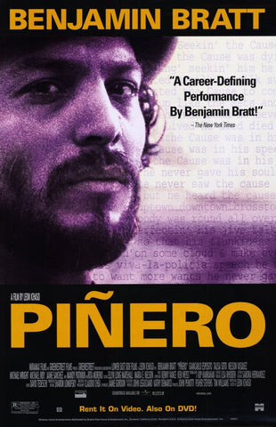 Pinero Movie Poster 27x40 Used MCP0021 Benjamin Bratt