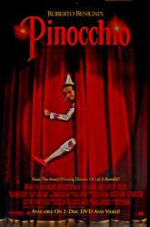 Pinocchio Movie Poster 27x40 (2002) Used Roberto Benigni, Luis Molteni, Glenn Close, Carlo Giuffrè, David Suchet, Kevin James, Giorgio Ariani, Regis Philbin, Mino Bellei, Bruno Arena, James Belushi, Topher Grace