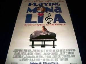 Playing Mona Lisa Movie Poster 27x40 Used