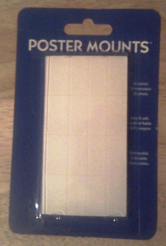"Poster Mounts	 PM08 New 1"" X 1/2"" UPC17681476499"