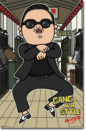 Psy – Animated Poster 22x34 RS9633 UPC017681096338