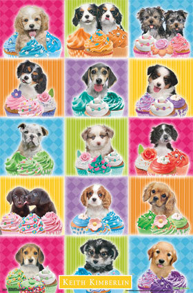 Puppy – Cupcake Poster 22x34 RP2258  UPC017681022580