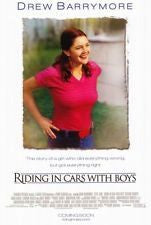 Riding in Cars with Boys Movie Poster 27x40 Used  Drew Barrymore, Gabriel Carpenter, Bill Walters, Michael Linstroth, Peter Facinelli, Gene Gabriel, Aleksia Landeau, Kevin Thoms, Peter Austin Noto, Marisa Ryan