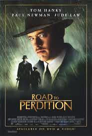Road to Perdition Movie Poster 27x40 Used Jennifer Jason Leigh, Jude Law, Paul Newman, James Greene, Mina Badie, Duane Sharp, Kevin Chamberlin, David Darlow, James Currie, JoBe Cerny, Richard Dunn, Reese Foster, Stanley Tucci, Ciarán Hinds, Tom Hanks
