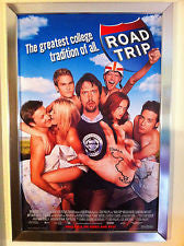 Road Trip Movie Poster 27x40 Used Richie Dye, Rini Bell, DJ Qualls, Cristen Coppen, Cleo King, Ellen Albertini Dow, Patricia Gaul, Kohl Sudduth, Vinnie Jones, Mary Lynn Rajskub, Jimmy Kimmel, Omar J Dorsey