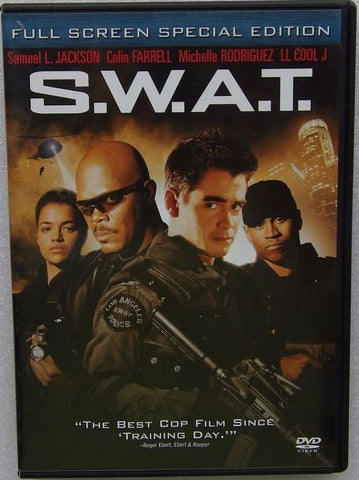 S.W.A.T. 2003 Movie DVD Used SWAT UPC043396022980