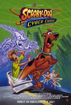 Scooby-Doo and the Cyber Chase Movie Poster 27x40 Used