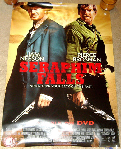 Seraphim Falls Movie Poster 27x40 Used Brent Lambert, Xander Berkeley, Scott Flick, Kevin J O'Connor, Pierce Brosnan, Robert Baker, Tom Noonan, Jordan Del Spina, Michael Wincott, Nate Mooney