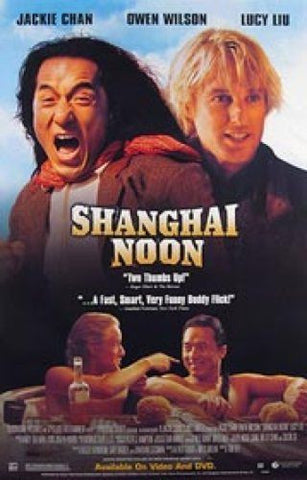 Shanghai Noon Movie Poster 27x40 Used MCP0022 Lucy Liu, Jackie Chan, Owen Wilson