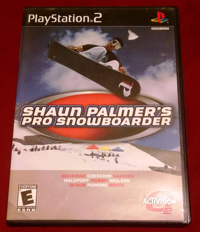 Shaun Palmer's Pro Snowboarder (Sony PlayStation 2, 2001) Video Games UPC: 047875801837 PS2
