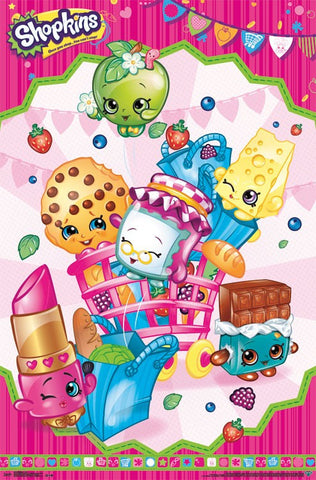 Shopkins - Cart Wall Poster 22x34 RP14179 UPC882663041794