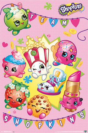 Shopkins - Shop TV Show/Cartoon Poster 22x34 RP14178 UPC882663041787