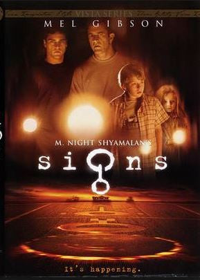 Signs Movie DVD Used 2002 Mel Gibson UPC786936197594