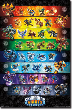 Skylanders 2 (Giants) – Group Poster 22x34 RP5807 UPC017681058077
