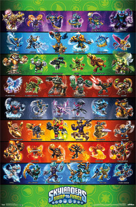 Skylanders Swap Force - Grid Game Poster 22x34 RP2218