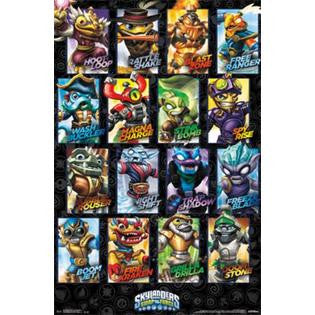 Skylanders Swap Force – Swappables Poster 22x34 RP13248 UPC882663032488