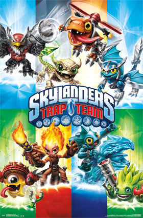 Skylanders Trap Team - Trap Game Poster 22x34 RP13464 UPC882663034642