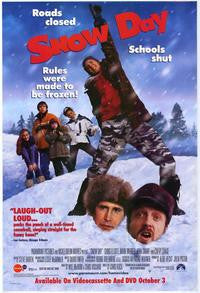 Snow Day Movie Poster 27x40 Used Chevy Chase, Josh Peck, Iggy Pop, Carly Pope, J Adam Brown, Schuyler Fisk, Lorena Gale, Rick Ash, Emmanuelle Chriqui, Dan Willmott, Jade Yorker, David Paetkau