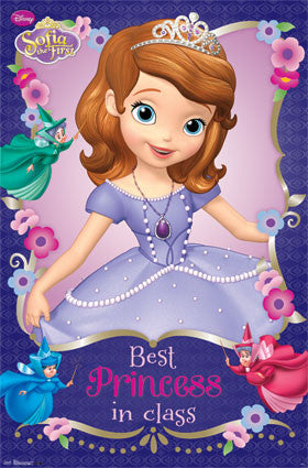 Sofia the First Movie Poster 22x34 RP6038 UPC017681060384 Disney
