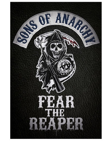 Sons Of Anarchy Fear The Reaper TV Show Poster 22x34 RP10070 UPC882663000708 SOA