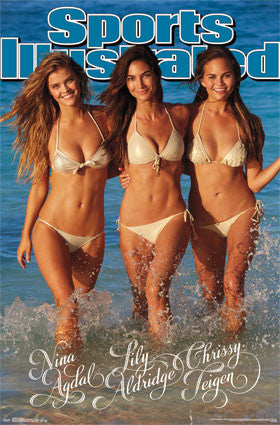Sports Illustrated – Trio 2014 Poster 22x34 RP13152 UPC882663031528 SI Swimsuit