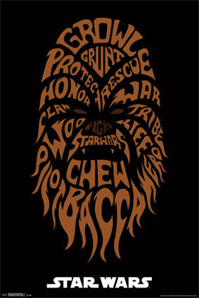 Star Wars - Chewbacca Movie Poster 24x36 RP13265 UPC882663032655