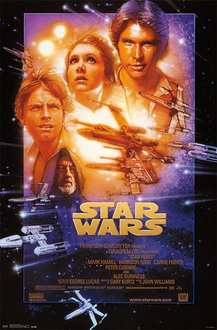 Star Wars - Episode 4 Movie Poster 22x34 RP13828 UPC882663038282
