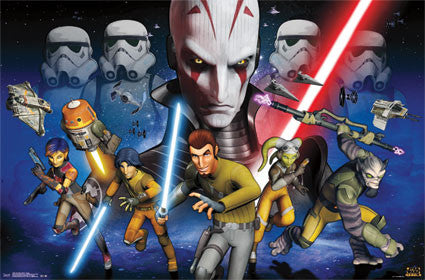 Star Wars Rebels - Group Movie Poster 22x34 RP13285 UPC882663032853