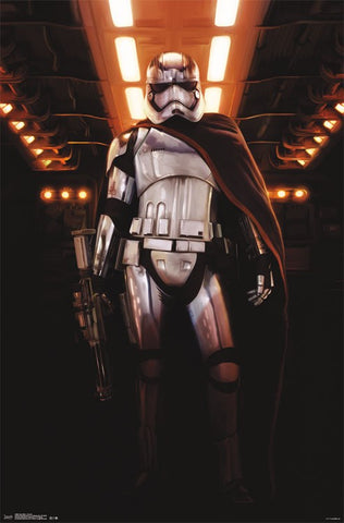Star Wars The Force Awakens -  Chrome Movie Poster 22x34 RP13965 UPC882663039654 SWTFA
