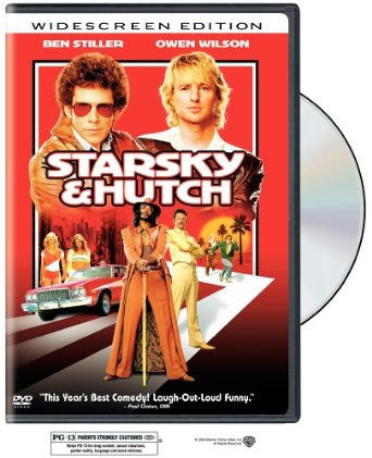 Starsky & Hutch 2004 Movie DVD Widescreen Used Will Ferrell, Carmen Electra, Owen Wilson, Ben Stiller