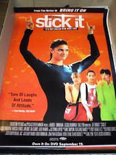 Stick It Movie Poster 27x40 Used Anne Lockhart, Sandi Craig, Svetlana Efremova, Gia Carides, Vanessa Lengies, Lee Garlington, Missy Peregrym, Annie Corley, Rif Hutton, Julie Warner, John Kapelos, Corinne Reilly