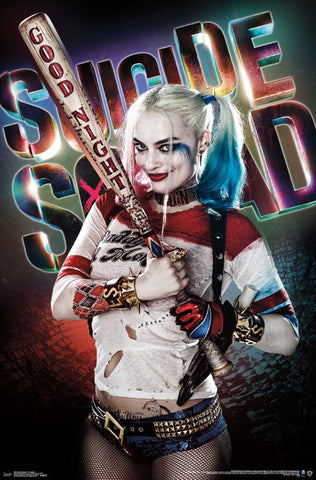 Suicide Squad - Good Night Movie Poster 22x34 RP15041 UPC882663050413