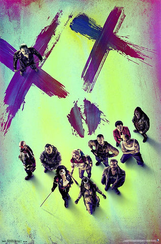 Suicide Squad - Teaser Movie Poster 22x34 RP14083 UPC882663040834 DC